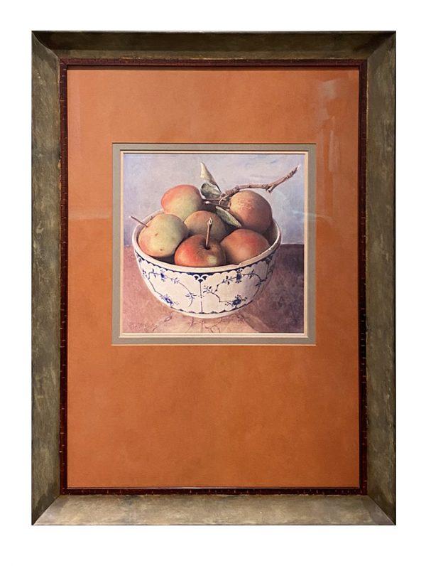 Apple In Delft Bowl